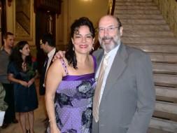 Sergio Casoy e a mezzo espanhola Nancy Fabiola Herrera - 10.03.2012