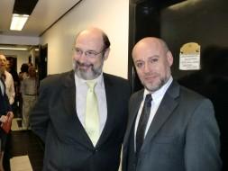 Sergio Casoy e o baritono Paulo Coni-TMSP-22.03.2012